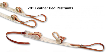 201 Leather Bed Restraints