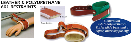 Leather and Polyurethane 601 Restraints
