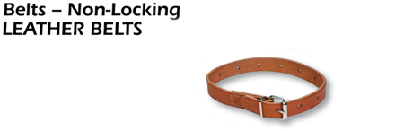 Leather Belts - Non-Locking