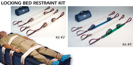 Locking Bed Restraint Kit