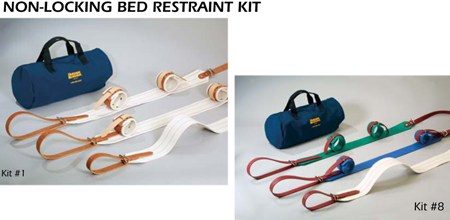 Non-Locking Bed Restraint Kit